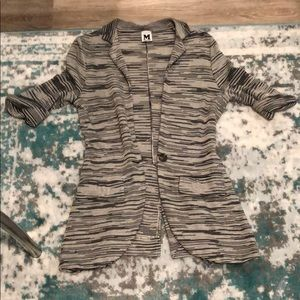 Missoni one button cardigan jacket